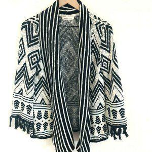Newbury Kustom Knit Open Front Boho Cardigan